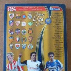 Álbum de fútbol completo: ALBUM AS LAS FICHAS DE LA LIGA 2005. MUNDICROMO. COMPLETO. 246 FICHAS. MUY BUEN ESTADO.. Lote 71159277