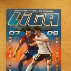 Álbum de fútbol completo: ALBUM LIGA ESTE 07/08 COMPLETO DE PANINI 2007- 08 2008. Lote 71463751
