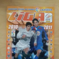 Álbum de fútbol completo: ALBUM LIGA ESTE 10/11 COMPLETO DE PANINI 2010-11. Lote 71464895