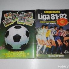 Álbum de fútbol completo: ALBUM CAMPEONATO LIGA 81 - 82 EDC ESTE, COMPLETO CON COLOCAS Y FICHAJES, VER FOTOGRAFIAS ADICIONALES. Lote 71898127