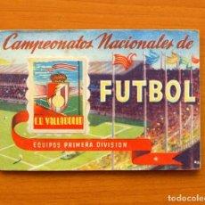 Álbum de fútbol completo: VALLADOLID - EDITORIAL RUIZ ROMERO LIGA 1950-1951, 50-51 - COMPLETO CON 27 CROMOS - VER FOTOS. Lote 71929439