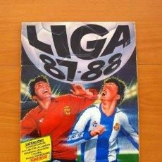 Álbum de fútbol completo: LIGA 87-88, 1987-1988 - EDICIONES ESTE - COMPLETO. Lote 72020451