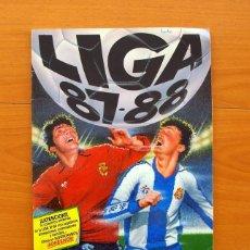Álbum de fútbol completo: LIGA 87-88, 1987-1988 - EDICIONES ESTE - COMPLETO, CON VARIOS CROMOS DIFICILES, VER FOTOS. Lote 72023659