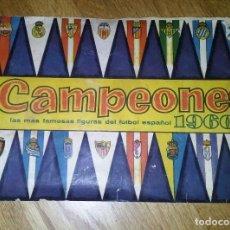 Álbum de fútbol completo: ALBUM CAMPEONES 1960 - COMPLETO - EDITORIAL BRUGUERA. Lote 72202447