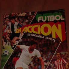 Álbum de fútbol completo: ALBUM COMPLETO FUTBOL EN ACCION PACOSA 2. Lote 72931763