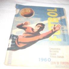 Álbum de fútbol completo: ALBUM DE LA LIGA 1959-60 DE RUIZ ROMERO COMPLETO Y CON CROMOS MUY NUEVOS. Lote 81237074