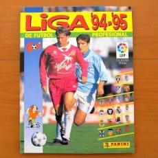 Álbum de fútbol completo: LIGA 94-95, 1994-1995 - EDITORIAL PANINI - ÁLBUM COMPLETO. Lote 75574695
