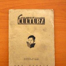 Álbum de fútbol completo: CROMOS CULTURA - ÁLBUM SEXTO - COMPLETO - BRUGUERA 1941, VER EXPLICACIÓN Y FOTOS DEL INTERIOR. Lote 75575311