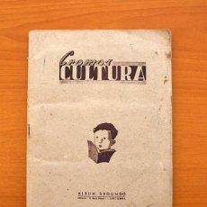 Álbum de fútbol completo: CROMOS CULTURA - ÁLBUM SEGUNDO - COMPLETO - VER EXPLICACIÓN Y FOTOS DEL INTERIOR, EL GATO NEGRO 1939. Lote 75575679