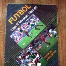 Álbum de fútbol completo: ALBUM FUTBOL , CAMPEONATO LIGA 1987 -88 87 -88 , FESTIVAL , COMPLETO. Lote 75583367