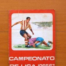 Álbum de fútbol completo: CAMPEONATO DE LIGA 1966-1967, 66-67 - EDITORIAL FHER - COMPLETO. Lote 27546252