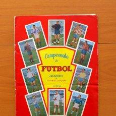 Álbum de fútbol completo: CAMPEONATO DE FÚTBOL - LIGA 1957-1958, 57-58 - GRÁFICAS BACHENDE - COMPLETO. Lote 134455705