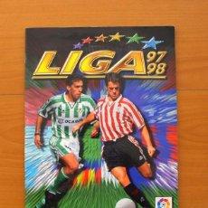 Álbum de fútbol completo: ÁLBUM LIGA 1997-1998, 97-98 - EDICIONES ESTE - COMPLETO. Lote 75614159