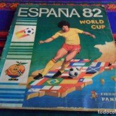 Álbum de fútbol completo: ESPAÑA 82 PANINI COMPLETO MUNDIAL FÚTBOL 1982. REGALO ÁLBUM OFICIAL REAL MADRID PÉGATE A TUS ÍDOLOS.. Lote 133331739