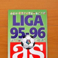 Álbum de fútbol completo: ÁLBUM LIGA 95-96 - DIARIO AS 1995-1996 - COMPLETO - VER FOTOS EN EL INTERIOR. Lote 76600659