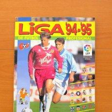 Álbum de fútbol completo: ÁLBUM LIGA 94-95, 1994-1995 - EDITORIAL PANINI - COMPLETO - VER FOTOS EN EL INTERIOR. Lote 76601451