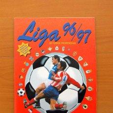 Caderneta de futebol completa: ÁLBUM LIGA 96-97, 1996-1997 - EDITORIAL PANINI - COMPLETO - VER FOTOS EN EL INTERIOR. Lote 85926872
