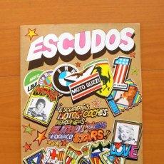 Álbum de fútbol completo: ÁLBUM ESCUDOS - DIFUSORA DE CULTURA 1981 - COMPLETO - VER FOTOS EN EL INTERIOR. Lote 76604807