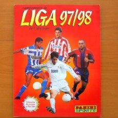 Caderneta de futebol completa: ÁLBUM LIGA 1997-1998, 97-98 - EDITORIAL PANINI - COMPLETO. Lote 76930253