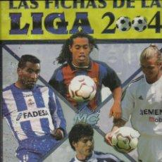 Álbum de fútbol completo: ALBUM COMPLETO DE LAS FICHAS DE LA LIGA 2004 CON 784 FICHAS SOLO FALTA EL Nº 770. Lote 76934669