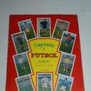 Álbum de fútbol completo: ALBUM CAMPEONATO DE FUTBOL JUGADORES DE PRIMERA DIVISION, GRAFICAS BACHENDE 1957 COMPLETO. Lote 78246317