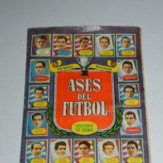 Álbum de fútbol completo: ALBUM ASES DEL FUTBOL 1952 , EDT BRUGUERA 1952 , COMPLETO , POCAS SEÑALES DE USO. Lote 78247489