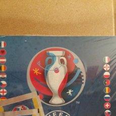 Álbum de fútbol completo: ALBUM CROMOS FUTBOL PANINI EUROCOPA FRANCIA 2016 CON DOS SOBRES ALBUM Y SOBRES SIN ABRIR. Lote 157876820