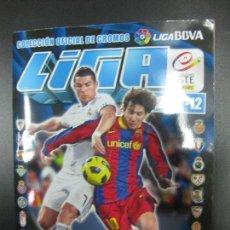 Álbum de fútbol completo: ALBUM CROMOS FUTBOL LIGA 2011 - 2012. COMPLETO. CONTIENE 518 CROMOS. COLECCIONES ESTE PANINI. Lote 79513373