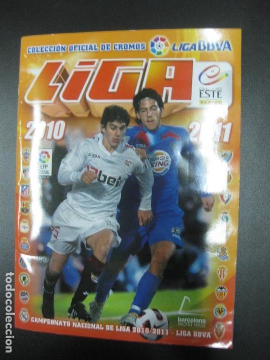 ALBUM CROMOS FUTBOL LIGA 2010 - 2011. COMPLETO. CONTIENE 517 CROMOS. COLECCIONES ESTE PANINI (Coleccionismo Deportivo - Álbumes y Cromos de Deportes - Álbumes de Fútbol Completos)