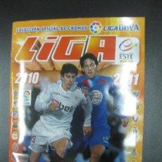 Álbum de fútbol completo: ALBUM CROMOS FUTBOL LIGA 2010 - 2011. COMPLETO. CONTIENE 517 CROMOS. COLECCIONES ESTE PANINI. Lote 79513733