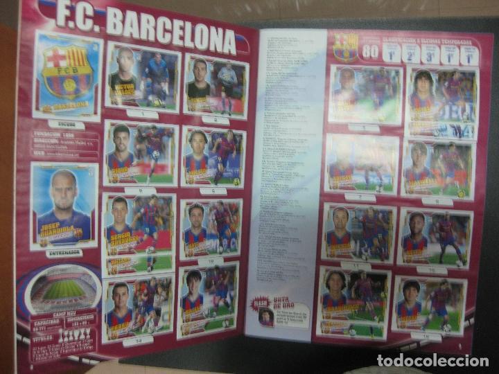 Álbum de fútbol completo: ALBUM CROMOS FUTBOL LIGA 2010 - 2011. COMPLETO. CONTIENE 517 CROMOS. COLECCIONES ESTE PANINI - Foto 4 - 79513733