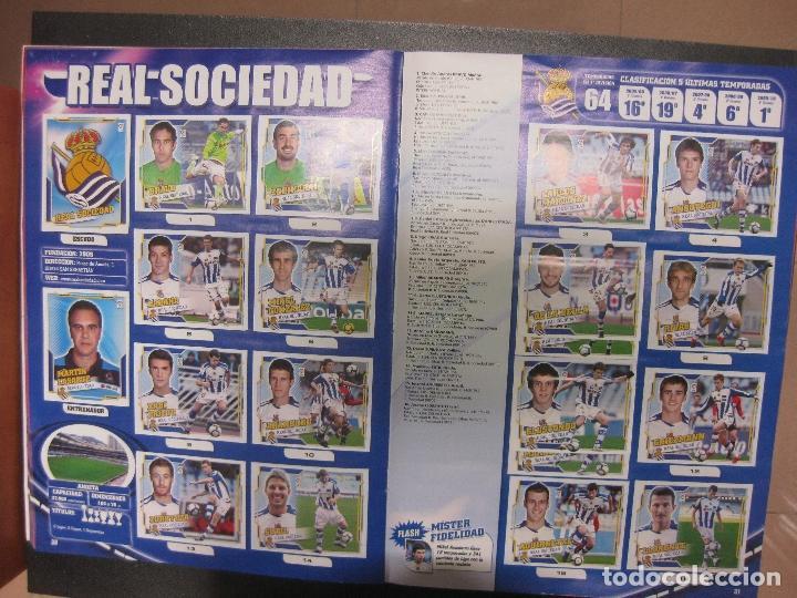 Álbum de fútbol completo: ALBUM CROMOS FUTBOL LIGA 2010 - 2011. COMPLETO. CONTIENE 517 CROMOS. COLECCIONES ESTE PANINI - Foto 7 - 79513733
