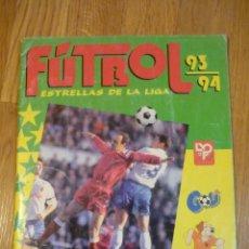 Álbum de fútbol completo: ÁLBUM 93/94 ESTRELLAS DE LA LIGA PANINI COMPLETO. Lote 79745325