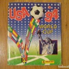 Álbum de fútbol completo: ÁLBUM MUNDIAL USA 94 PANINI. COMPLETO CON ESCRITOS.. Lote 79764481