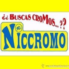 Álbum de fútbol completo: LOTE ALBUMES FUTBOL COMPLETOS TODAS LAS COLECCIONES EDICIONES ESTE DE NICCROMO. Lote 80148985
