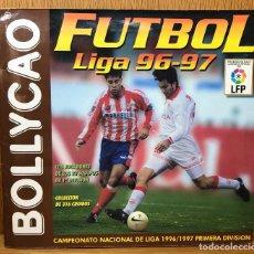 Álbum de fútbol completo: ÁLBUM FÚTBOL 96 - 97 - BOLLYCAO - CAMPEONATO NACIONAL DE LIGA 1996 / 1997 (COMPLETO). Lote 80213201