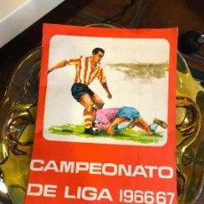 Álbum de fútbol completo: ALBUM COMPLETO - CAMPEONATO DE LIGA 1966 / 67 - ESCASO. Lote 80375017