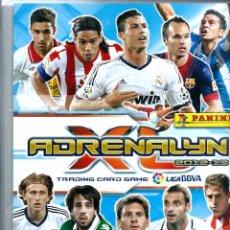 Álbum de fútbol completo: ADRENALYN LIGA BBVA 2012-2013 12 13 - ALBUM ARCHIVADOR Y 529 CROMOS - LA COLECCION REGULAR COMPLETA. Lote 66479198