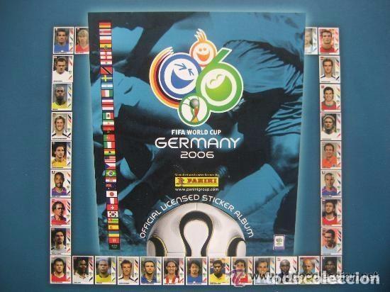 FUTBOL: 2006 ALBUM-LIBRO PANINI DEL MUNDIAL DE FUTBOL ALEMANIA 06. MUCHAS FOTOS A COLOR. NUEVO. (Coleccionismo Deportivo - Álbumes y Cromos de Deportes - Álbumes de Fútbol Completos)
