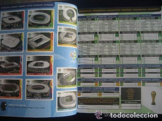 Álbum de fútbol completo: FUTBOL: 2006 ALBUM-LIBRO PANINI DEL MUNDIAL DE FUTBOL ALEMANIA 06. MUCHAS FOTOS A COLOR. NUEVO. - Foto 2 - 153799060