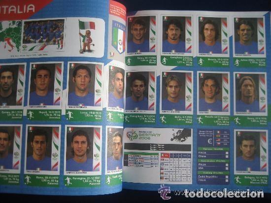 Álbum de fútbol completo: FUTBOL: 2006 ALBUM-LIBRO PANINI DEL MUNDIAL DE FUTBOL ALEMANIA 06. MUCHAS FOTOS A COLOR. NUEVO. - Foto 3 - 153799060