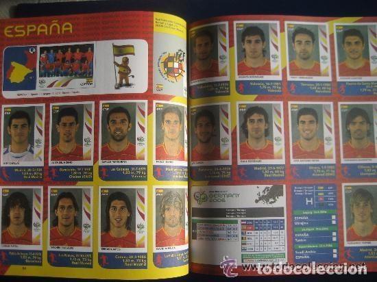 Álbum de fútbol completo: FUTBOL: 2006 ALBUM-LIBRO PANINI DEL MUNDIAL DE FUTBOL ALEMANIA 06. MUCHAS FOTOS A COLOR. NUEVO. - Foto 4 - 153799060