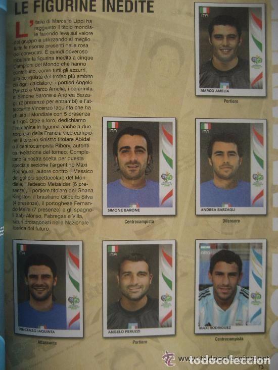Álbum de fútbol completo: FUTBOL: 2006 ALBUM-LIBRO PANINI DEL MUNDIAL DE FUTBOL ALEMANIA 06. MUCHAS FOTOS A COLOR. NUEVO. - Foto 6 - 153799060