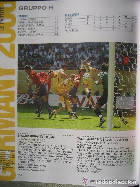 Álbum de fútbol completo: FUTBOL: 2006 ALBUM-LIBRO PANINI DEL MUNDIAL DE FUTBOL ALEMANIA 06. MUCHAS FOTOS A COLOR. NUEVO. - Foto 8 - 153799060
