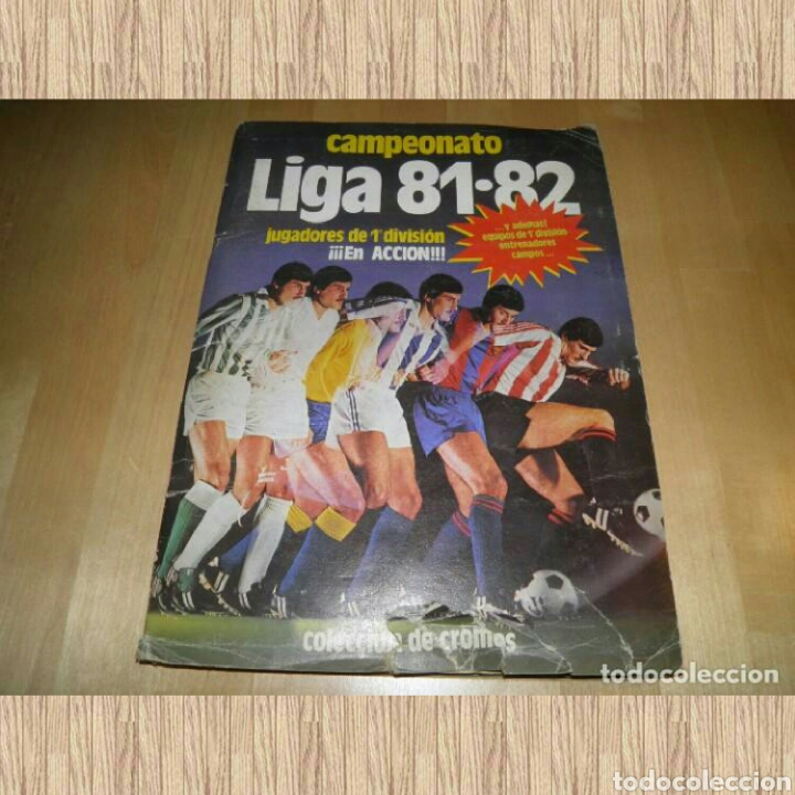 ÁLBUM FÚTBOL CAMPEONATO LIGA 81-82 .EDICIONES ESTE. (Coleccionismo Deportivo - Álbumes y Cromos de Deportes - Álbumes de Fútbol Completos)