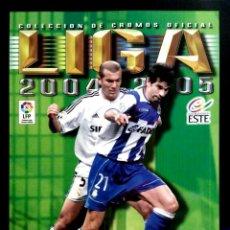 Álbum de fútbol completo: ALBUM LIGA ESTE 04 05 2004 2005 - FACSIMIL - PANINI - COLECCION CROMOS INOLVIDABLES SALVAT. Lote 80868499