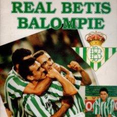 Álbum de fútbol completo: ÁLBUM DE CROMOS DEL REAL BETIS BALOMPIÉ COMPLETO 94 95. Lote 81579592