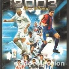 Álbum de fútbol completo: ALBUM COMPLETO - SUPERLIGA DE ESTRELLAS 2002 2003 - PANINI - CROMOS SUELTOS. Lote 81592472