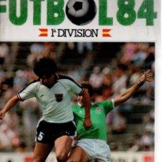 Álbum de fútbol completo: FÚTBOL 83-84 - 1ª DIVISIÓN - CROMOS CANO 84 - COMPLETO SIN FICHAJES PERO CON CROMOS RAROS. Lote 81597352