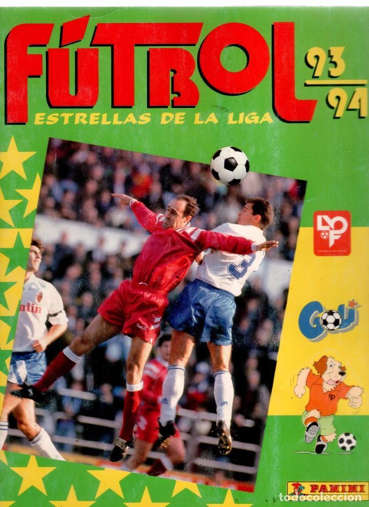 ALBUM COMPLETO FUTBOL PANINI 93-94 ESTRELLAS DE LA LIGA (Coleccionismo Deportivo - Álbumes y Cromos de Deportes - Álbumes de Fútbol Completos)